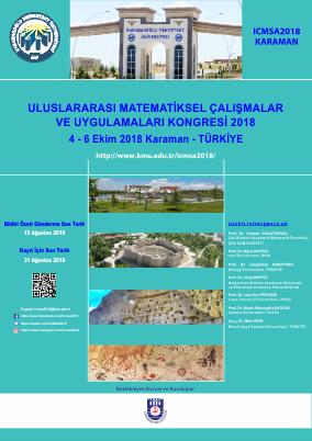Uluslararası Matematiksel Çalışmalar ve Uygulamaları Konferansı 2018