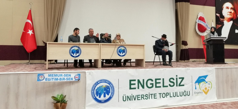 Yazar Erdal Yalçın katılımıyla BANA HAYATI ÖĞRETİRMİSİN adlı seminer düzenlendi.